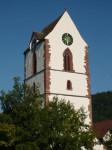 Altstadtbild - St. Michaels Kirche - Kirchturm (c) Stadt Schopfheim