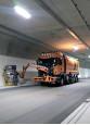 Spezialfahrzeug für die Tunnelreinigung (Symbolbild). Foto©Götz Straßenreinigung